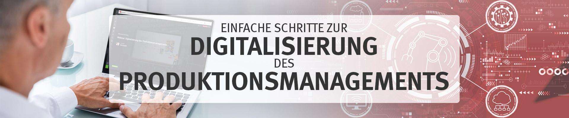 Bild Webinar Digitalisierung des Produktionsmanagements