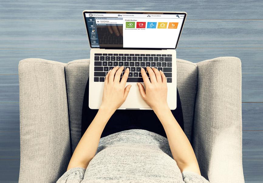 Zeiterfassung im Homeoffice über den Web-Self-Service