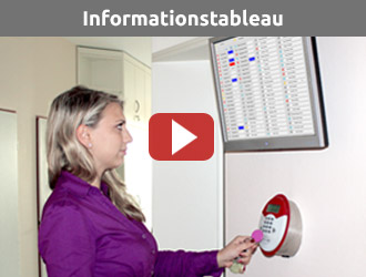 Informationstableau Video